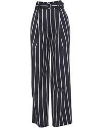 Proenza Schouler Casual Pants - Black