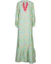 Manoush Vestido largo - Verde