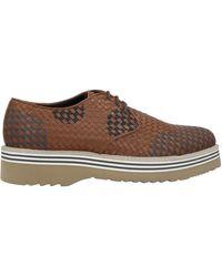 Alberto Guardiani Lace-up Shoe - Brown