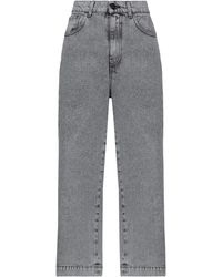 be Blumarine Denim Trousers - Grey