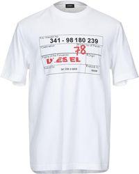 DIESEL - T-shirts - Lyst
