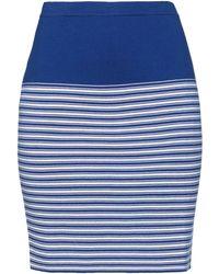 Cruciani Midi Skirt - Blue