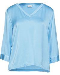 Her Shirt Blusa - Azul
