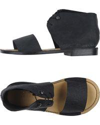 Barny Nakhle Sandals - Black