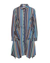 MEISÏE Short Dress - Blue