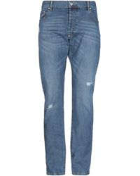 Blauer Pantalones vaqueros - Azul