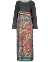 Maliparmi Vestito lungo - Verde