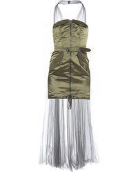 Moschino Short Dress - Green