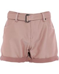 Tom Ford Belted High Waisted Shorts - Pink