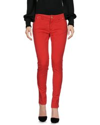 Peuterey Trouser - Red