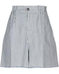 People (+) People Bermuda Shorts - Blue