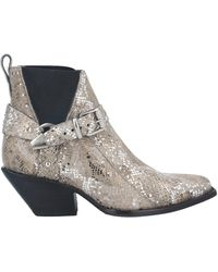 Mexicana Ankle Boots - Gray