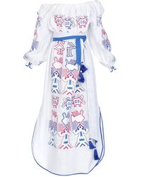 Yuliya Magdych Long Dress - White
