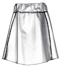 Collection Privée Knee Length Skirt - Metallic