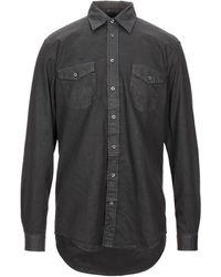Massimo Alba Shirt - Black