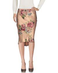 Henry Cotton's 3/4 Length Skirt - Multicolor
