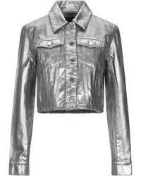 Sportmax Code Denim Outerwear - Metallic