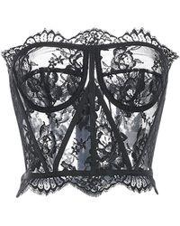 Dolce & Gabbana Top bandeau - Noir