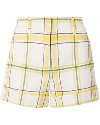 Veronica Beard Shorts - Yellow