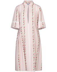 Au Jour Le Jour Knee-length Dress - Pink