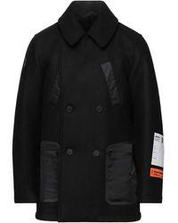 Heron Preston Coat - Black