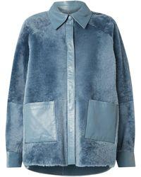 REMAIN Birger Christensen Shirt - Blue