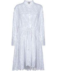Piccione.piccione - Short Dress - Lyst