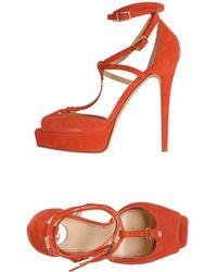 Elisabetta Franchi Sandals - Red