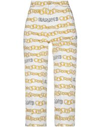 Ean 13 Cropped Trousers - White