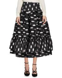 Fanfreluches - 3/4 Length Skirt - Lyst