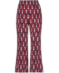 KENZO Casual Trouser - Red