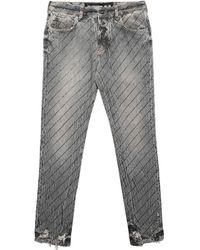 Filles A Papa Denim Trousers - Black