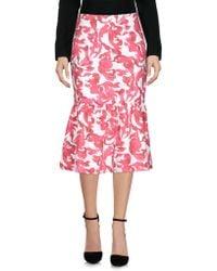 Saloni 3/4 Length Skirt - Pink