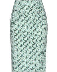 Essentiel Antwerp Knee Length Skirt - Green