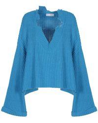 WEILI ZHENG Pullover - Blu