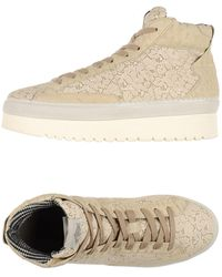 Soya Fish High-tops & Trainers - Natural