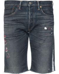 NSF Jeansshorts - Blau
