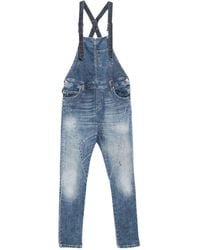 Please Dungarees - Blue
