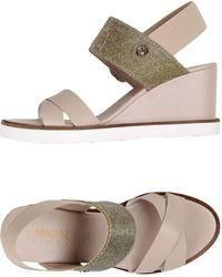 Armani Jeans - Sandals - Lyst
