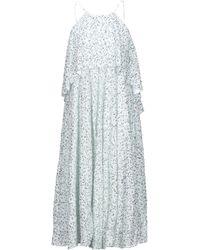 Halpern Midi Dress - White
