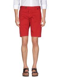 AT.P.CO Shorts & Bermuda Shorts - Red