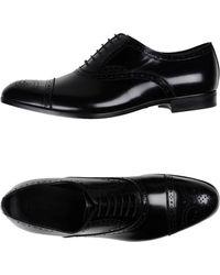 Emporio Armani Lace-up Shoe - Black
