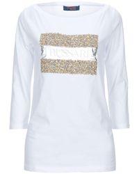 Trussardi T-shirts - Weiß