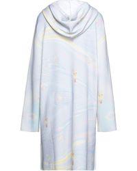 Maison Kitsuné Kurzes Kleid - Blau