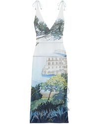 Altuzarra 3/4 Length Dress - White