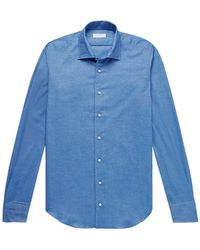P.Johnson Hemd - Blau