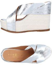 Fiorina Sandals - Metallic