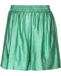 Nude Shorts & Bermuda Shorts - Green