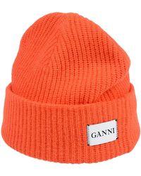 Ganni Chapeau - Orange