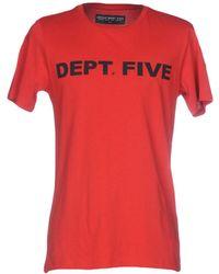 Department 5 - T-shirt - Lyst